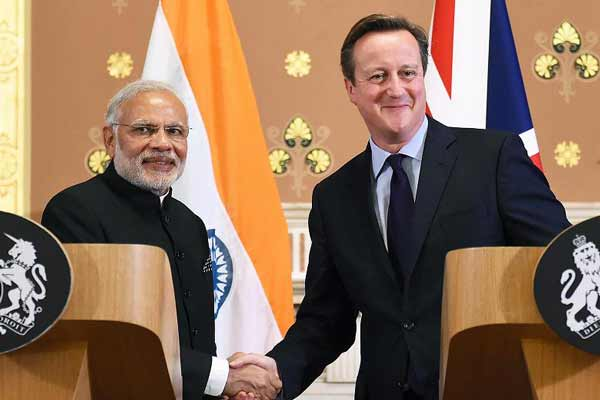 PM Modi holds bilateral talks with UK counterpart Cameron
