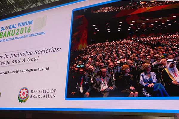 BAKU: violent extremism 'affront' to UN principles, Global Forum told in opening session