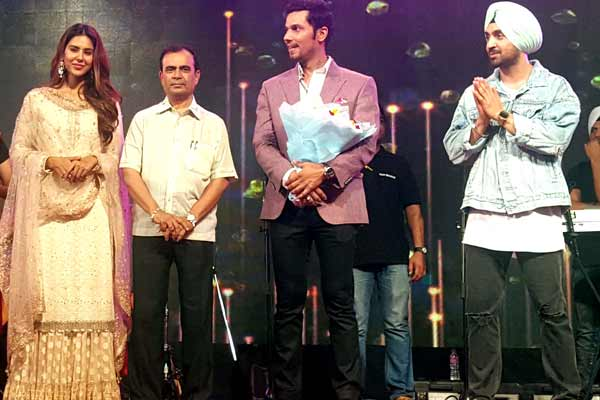 Yogesh Lakhani of Bright Outdoor with Bollywood stars and cricketers at different events