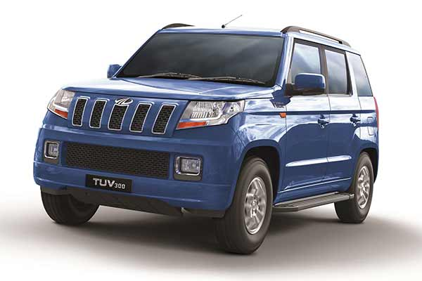 Mahindra launches the more powerful TUV300