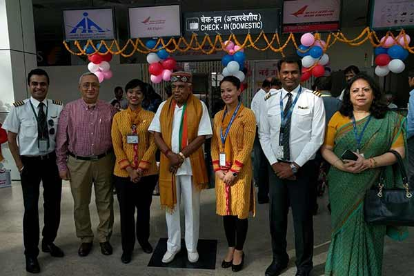 Air India bridges Bhopal with Pune via Raipur