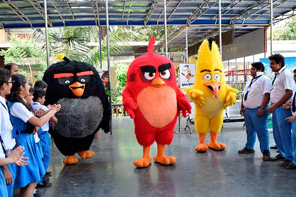 Baal Veer has special visitors in the form of Angry Birds!