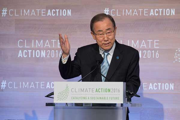 At climate summit in Washington, UN officials call to take action 'to the next level'