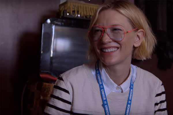 UN refugee agency appoints Cate Blanchett as global Goodwill Ambassador