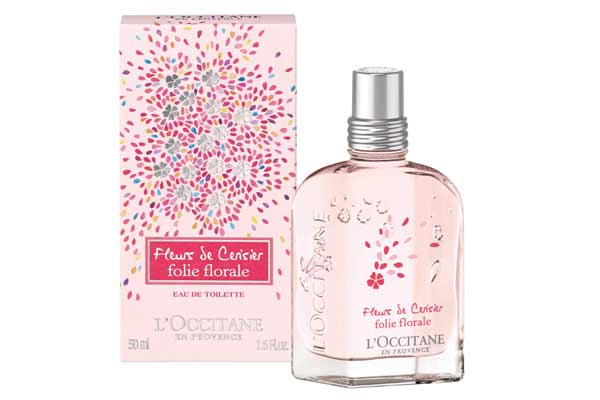 L'Occitane launches Cherry Blossom Folie Florale Collection this May