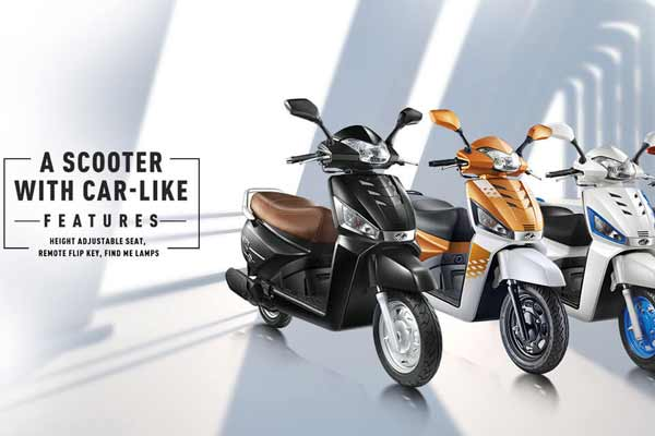 Mahindra Two Wheelers launches the new, powerful, and distinctively styled Gusto 125 in Pune