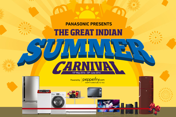 Hot deals for grab with Panasonic's 'The Great Indian Summer Carnival'