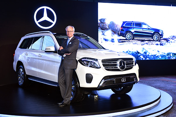 Mercedes-Benz drives in the GLS 350 d in India, the most luxurious SUV in its portfolio