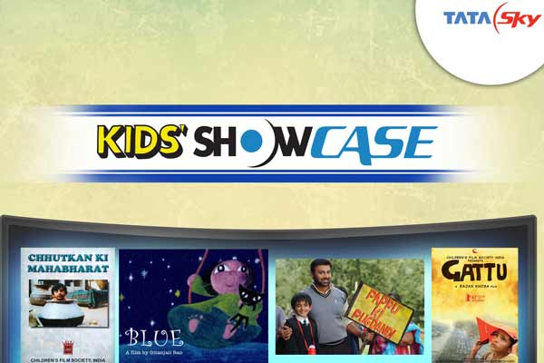 Tata Sky introduces World's finest kid's films with 'Kids' Showcase'