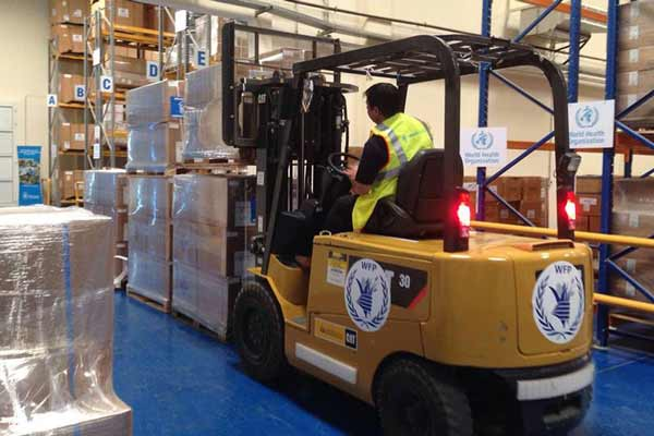 UN food relief agency provides logistics support to boost earthquake response in Japan