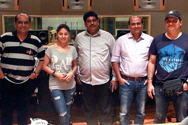 Sunidhi Chauhan dubs sensational song Rangeeniyan for film Fredrick releasing on 27th May