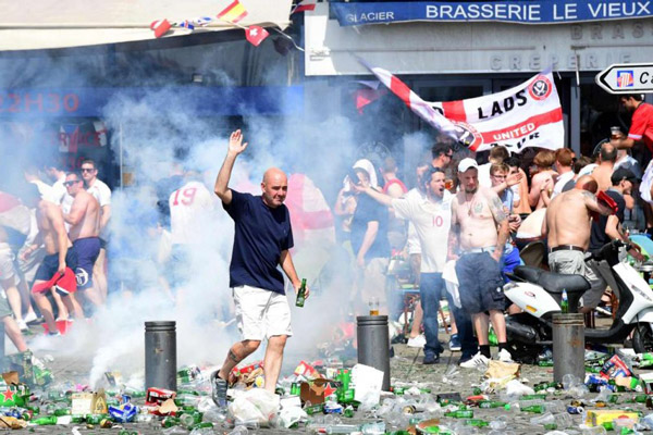 Euro 2016 violence: England fan critical after mass violence