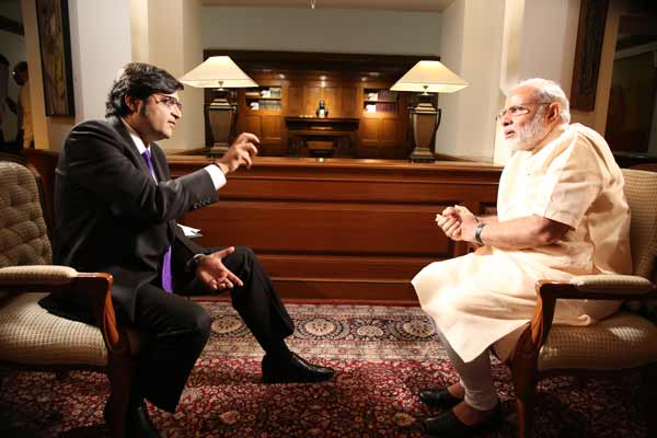TIMES NOW to air the most talked about interview of 2016 with PM Modi on  'Frankly Speaking'