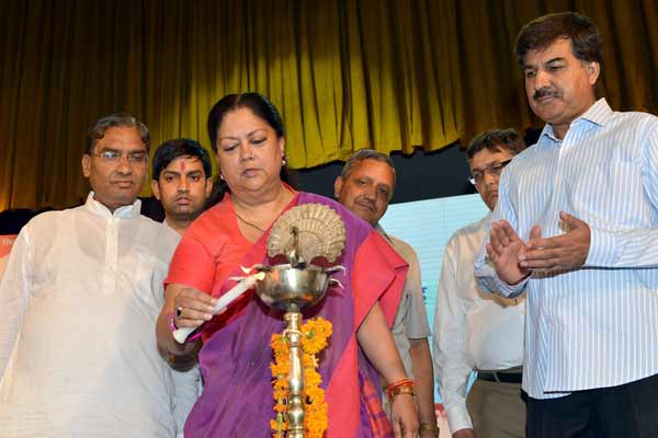 Chief Minister Vasundhara Raje dedicates number of projects for Jaipur Smart City