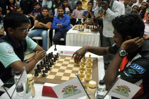 Final day of persistent 4th Maharashtra Chess League 2016