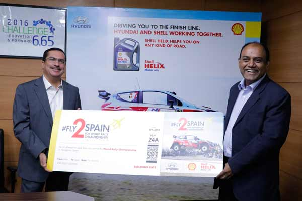 Shell Lubricants announces the winners of its 'Fly2Spain campaign'