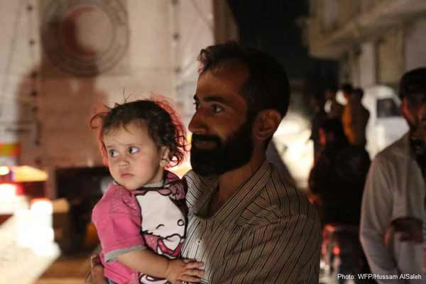 Syria: UN agencies reach families with food in the besieged town of Darayya