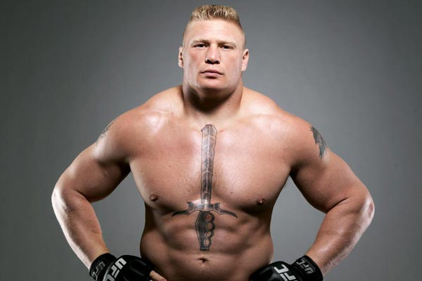 Brock Lesnar tests positive in second doping test