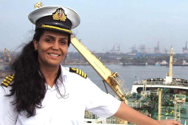First woman to receive IMO award for bravery at sea, Captain Radhika Menon