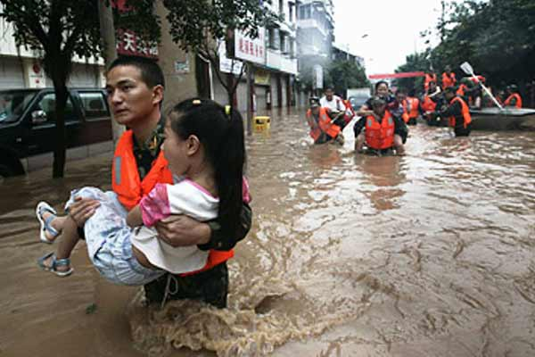 225 killed or missing in China rains