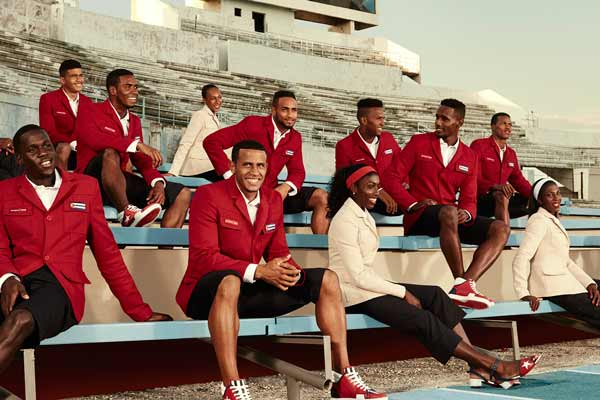 Christian Louboutin and SportyHenri.com team up to deliver the Cuban National Team with an elegant look for iconic moments