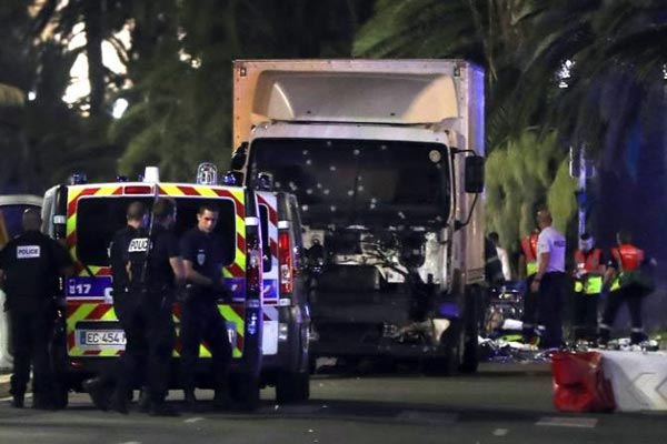 Truck rams into crowd in Nice; Over 70 killed, driver shot dead