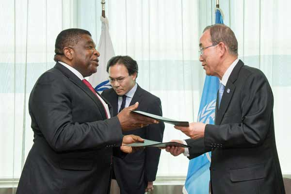 Ban welcomes new agreement with Inter Parliamentary Union; reiterates concern at South Sudan crisis