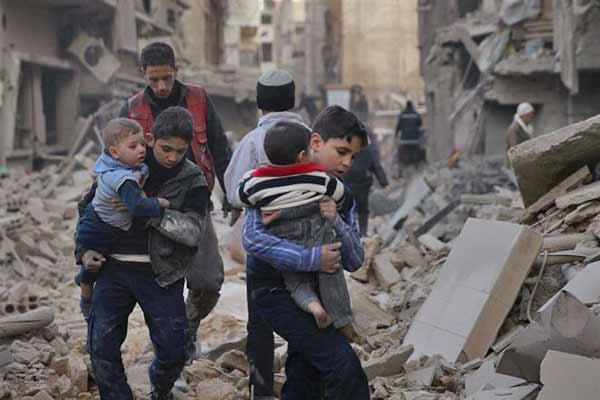 Syria army shelling of rebel town: At least 43 killed, including several children