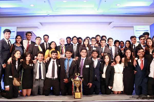 Enactus India National Competition winners, students from Shaheed Sukhdev College of Business Studies, Delhi, to represent India at the Enactus World Cup 2016