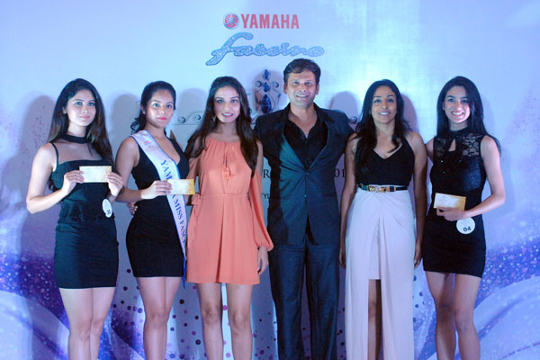 Yamaha Fascino Miss Diva 2016 receives an overwhelming response in Pune