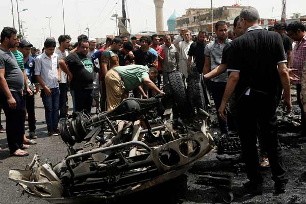 More than 200 dead in IS-claimed Baghdad blast
