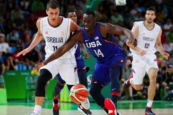 Rio 2016: Team USA power past Serbia for third straight basketball gold