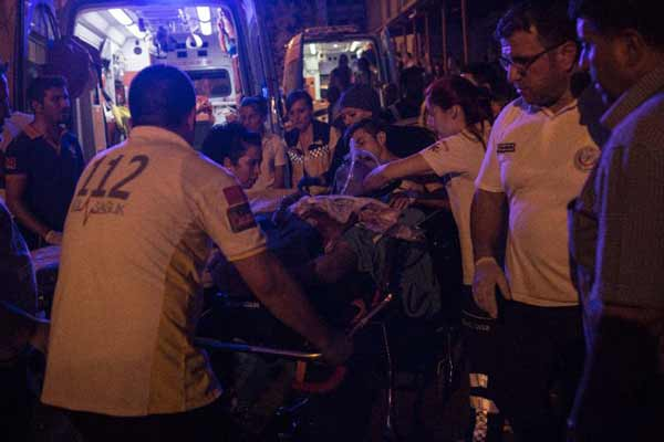 Young suicide bomber attacks Turkey wedding party; Death toll rises to 51
