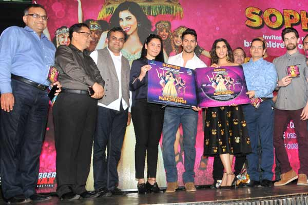 "Venus Worldwide Entertainment Pvt. Ltd. launched Sophie Choudry's new single ""Sajan Main Nachungi"" unveiled by Varun Dhawan"