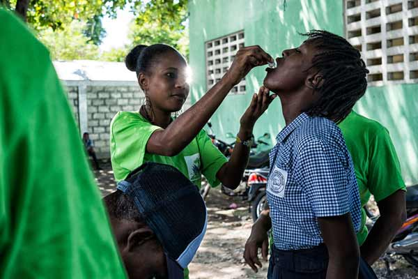 Citing UN's moral responsibility, Ban pledges support to Haiti in overcoming cholera epidemic