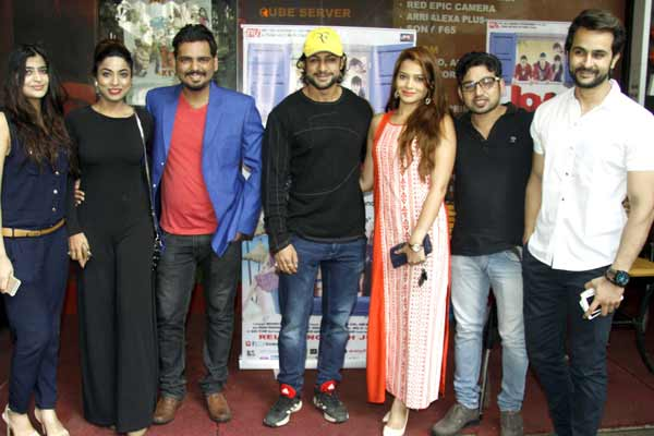 Celebs came for screening of their film Love Ke Funday