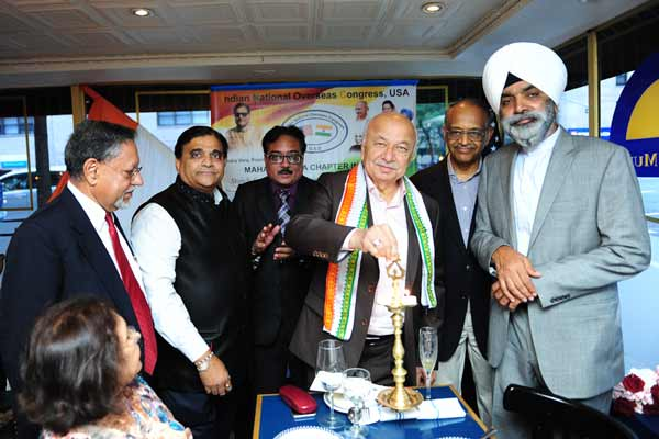 Former Union Home Minister Shinde launches Maharashtra Chapter of INOC,  USA