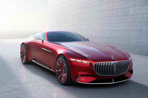 Mercedes Maybach Coupe D unveiled