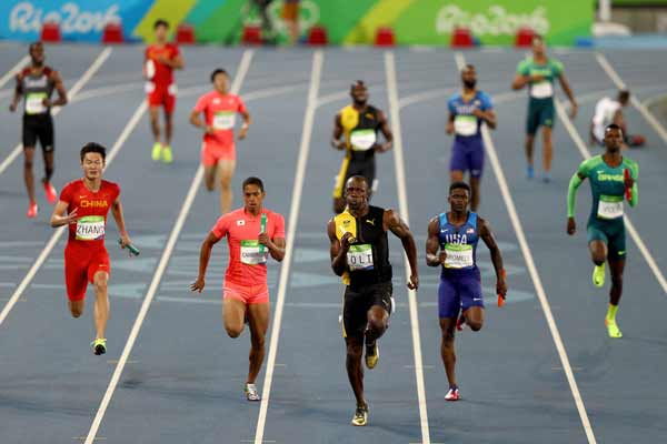 Rio 2016: Unbeatable Usain Bolt signs off with third Rio Gold