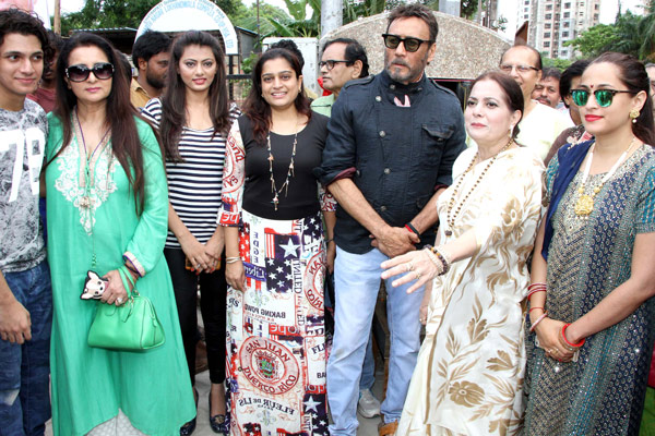 Celebs at Late Aadesh Shrivastava Chowk inauguration at Andheri W