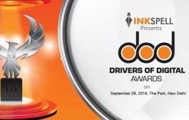 Inkspell DOD Awards Jury selects digital champions of 2016 to be felicitated in New Delhi on September 28, 2016