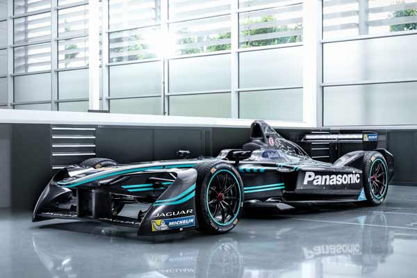 Jaguar returns to racing with I-Type, Adam Carroll, Mitch Evans, Ho-Pin Tung and Panasonic