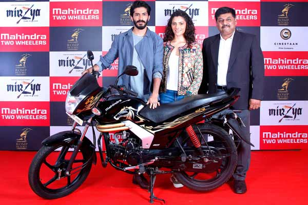 Mahindra Two Wheelers to launch Special Edition Motorcycle Mahindra Mirzya