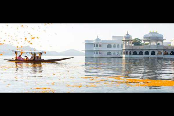 Taj Lake Palace, Udaipur voted among best in the world by Readers' Choice