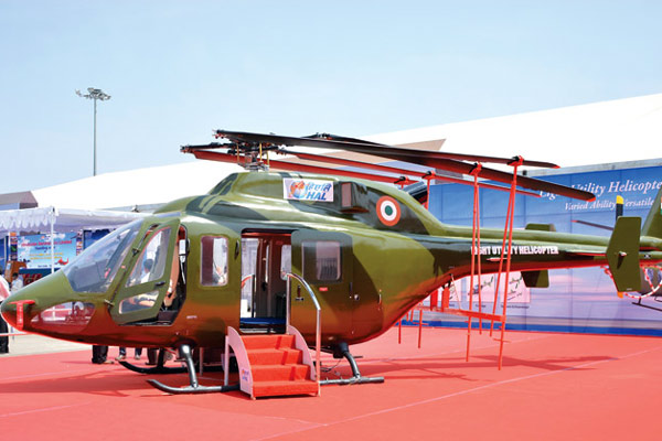 HAL Light Utility Helicopter‬ makes successful test flight