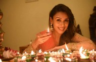 ACTRESS HRISHITAA BHATT CELEBRATES DIWALI with light and the euphoria of festivity