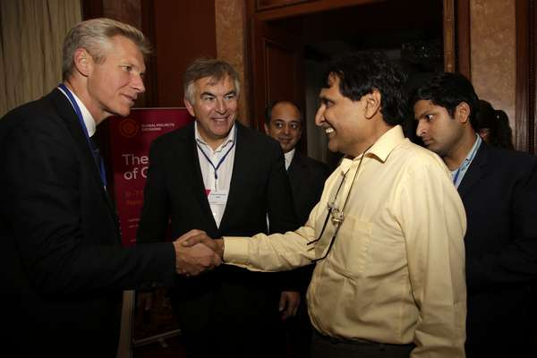 """""""India growing is good for the world, not just India,"""" says Suresh Prabhu to gathering of global businesses"""