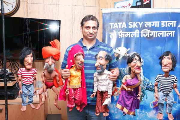 "Tata Sky presents Amitabh Bachchan in 7 new Avatars with its ""Family Jingalala"" campaign"