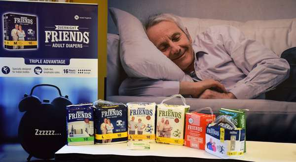 Nobel Hygiene launches Friends Overnight variant