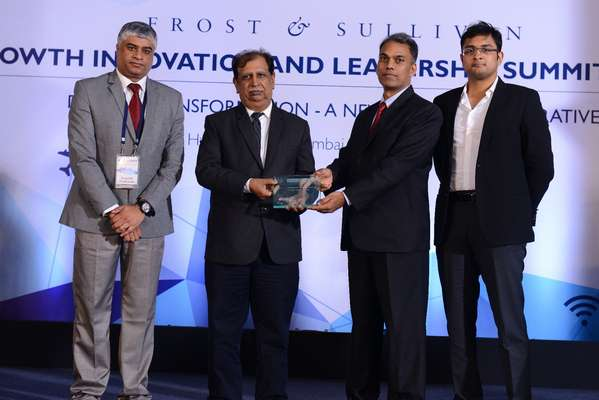 Varroc Lighting Systems wins 'India Automotive Lighting Technology Innovation Leadership Award' at Frost & Sullivan's GIL 2016: India Awards